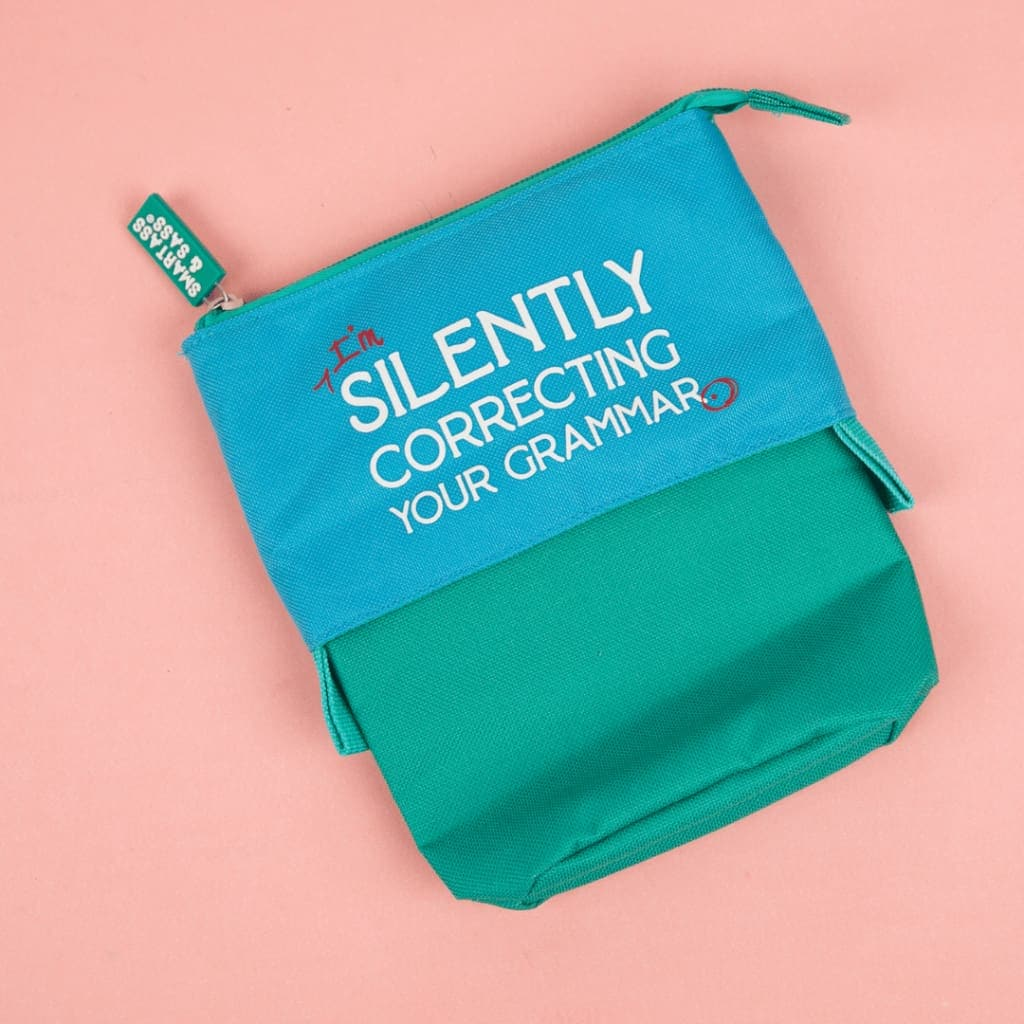 Correcting Your Grammar Pencil Pouch