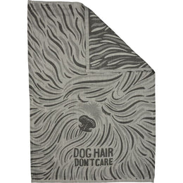 Dog Hair Don't Care Jacquard Towel - Towels