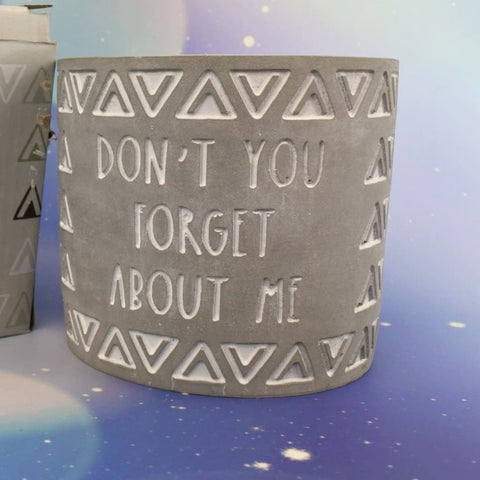 Don't Forget Me Planter