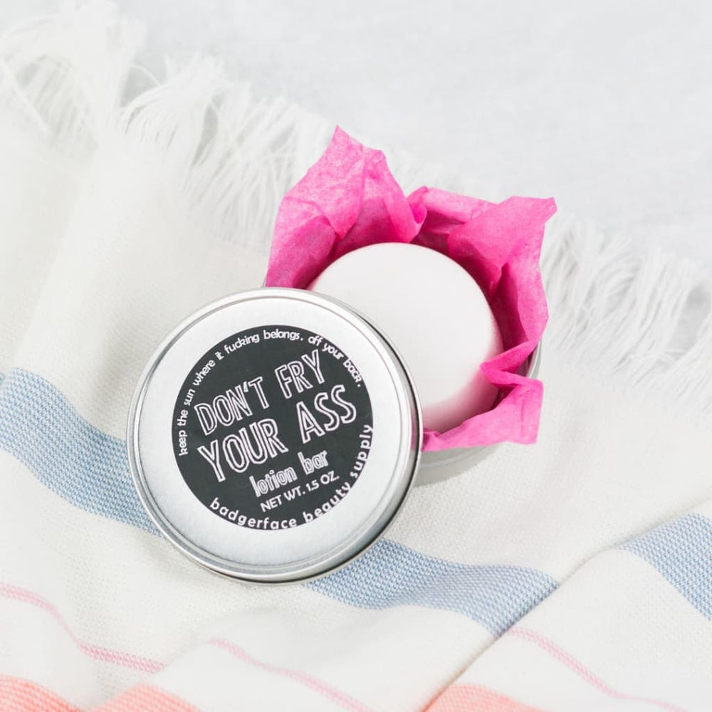 Dont Fry Your A/ss Sunscreen Lotion Bar - Bath & Body