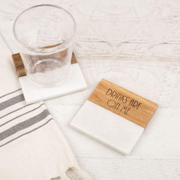 Drinks Are On Me Coaster Set - Kitchen