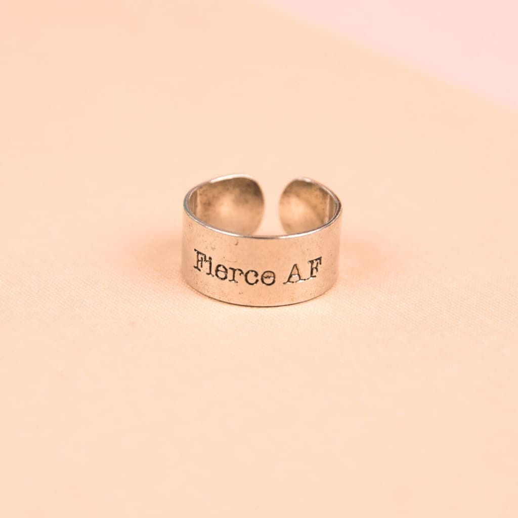 Fierce AF Adjustable Ring
