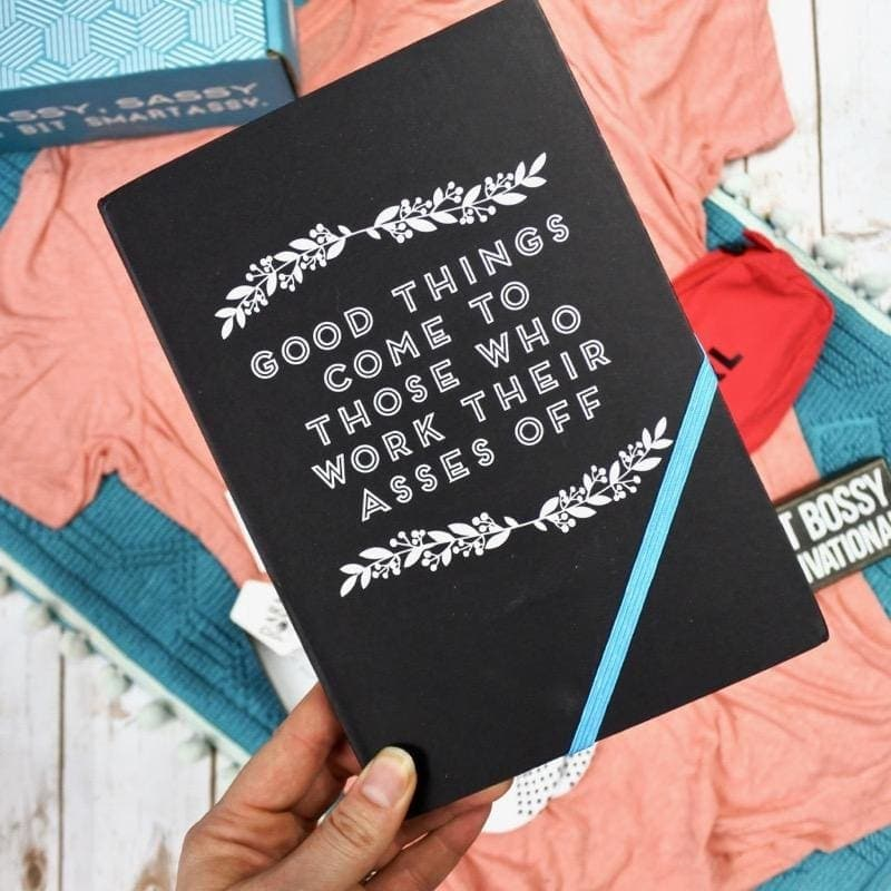 Good Things Hardcover Notebook - Notebooks & Notepads