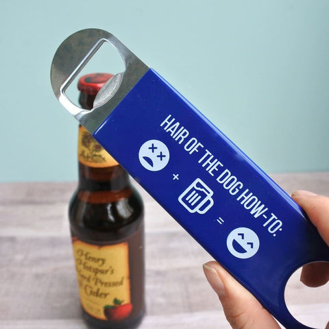 Hair of the Dog How-To Bottle Opener