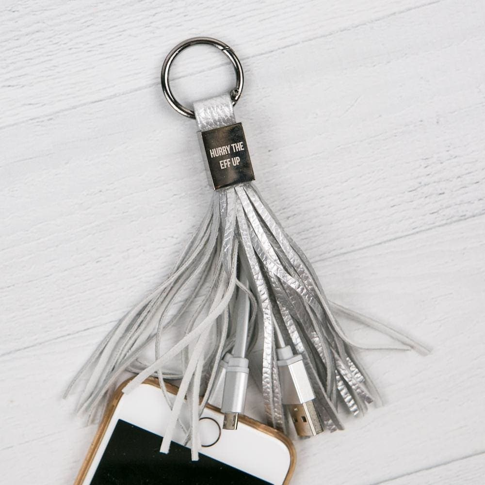 Hurry Up Tassel Charging Cable - Tech