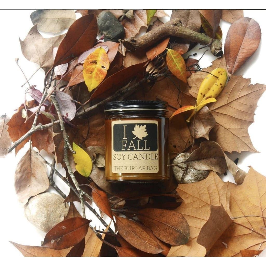 I Love (Leaf) Fall 9 oz Candle