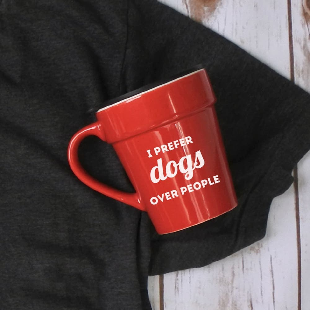 I Prefer Dogs Over People Mug