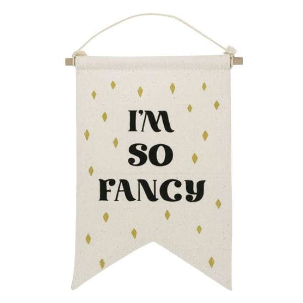 I'm So Fancy Banner