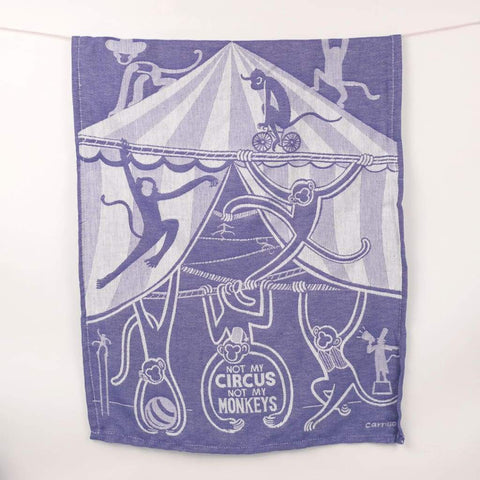 Not My Circus Dish Towel