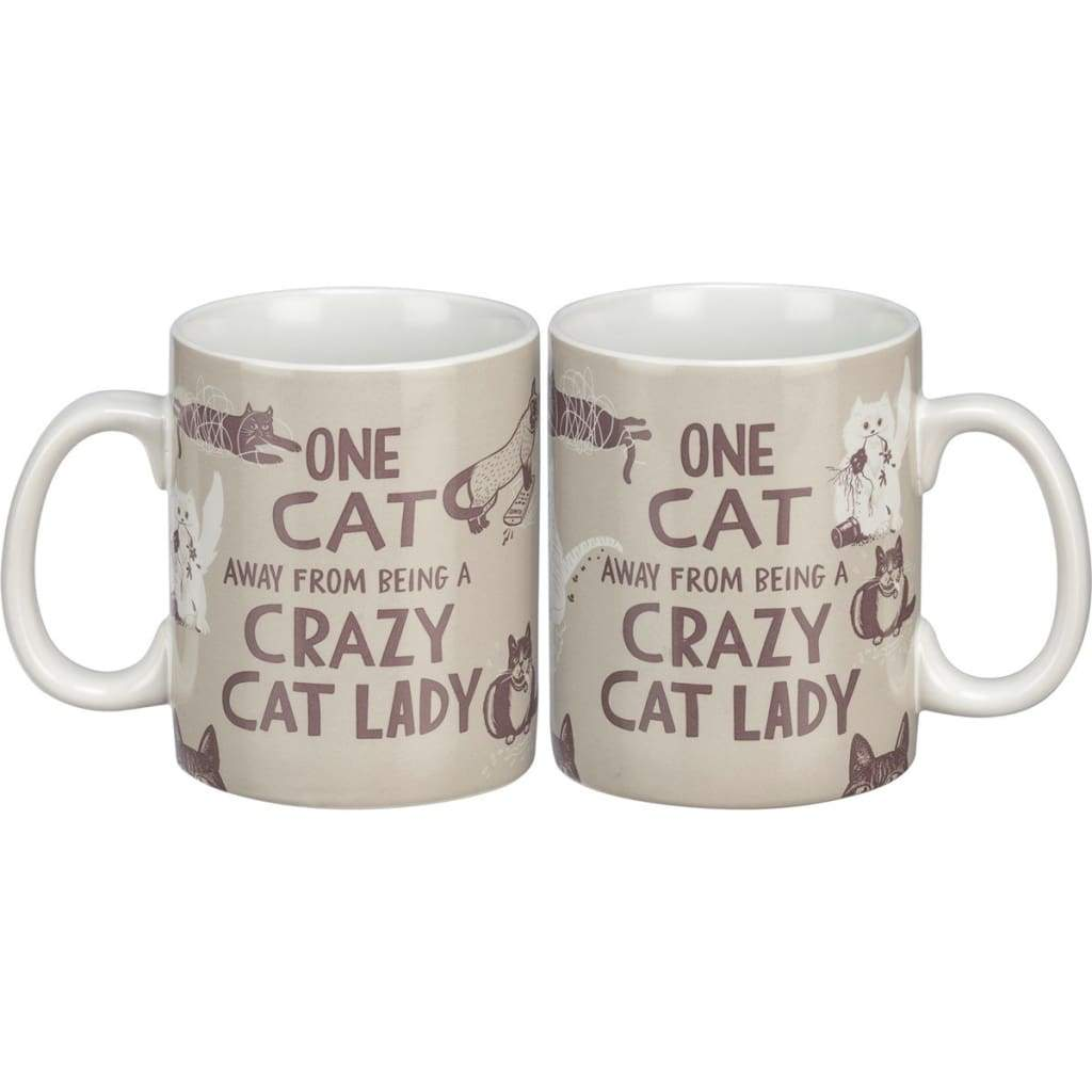 One Cat Away Mug
