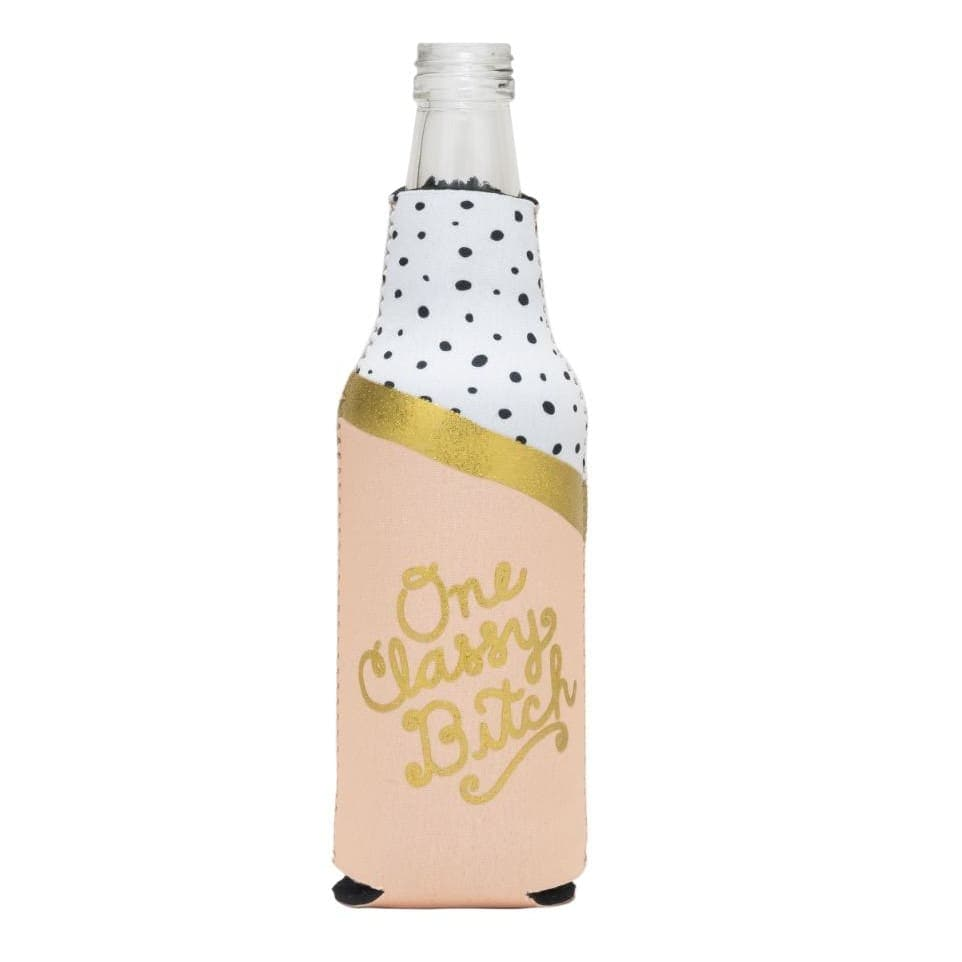 One Classy Bitch Bottle Cooler - Drinkware