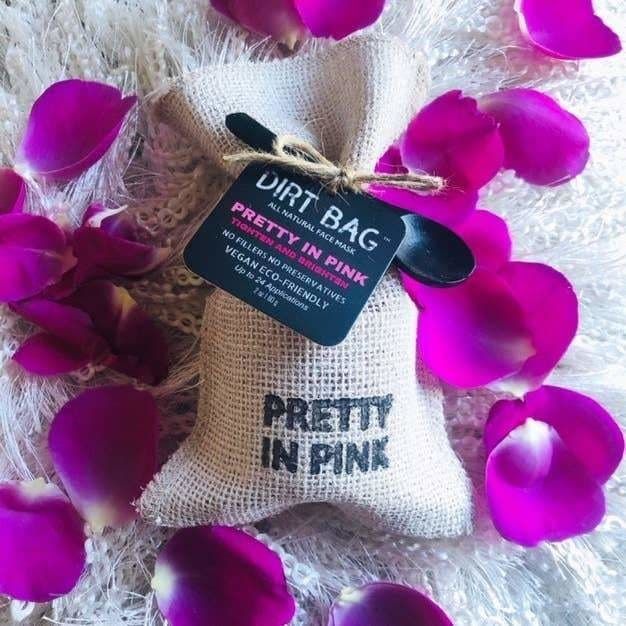 Pretty in Pink All Natural Face Mask - Bath & Body