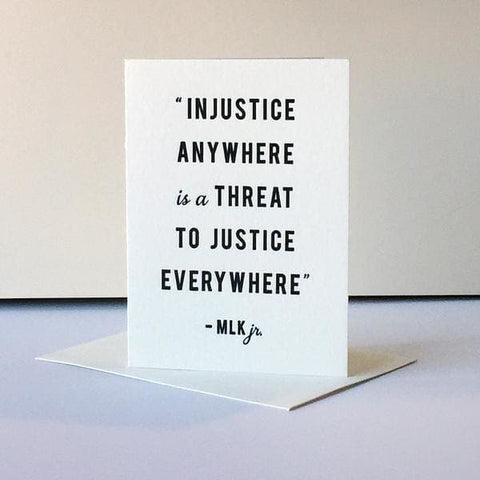 Protest Card - Injustice