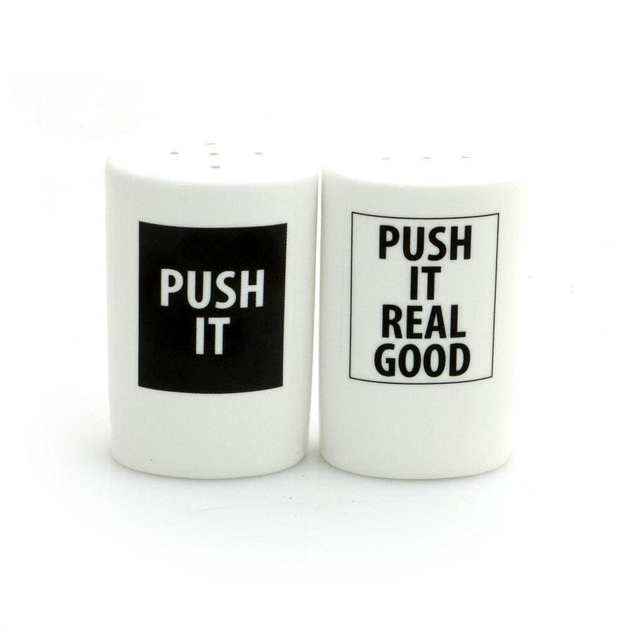 Push It Salt-N-Pepper Shakers - Kitchen