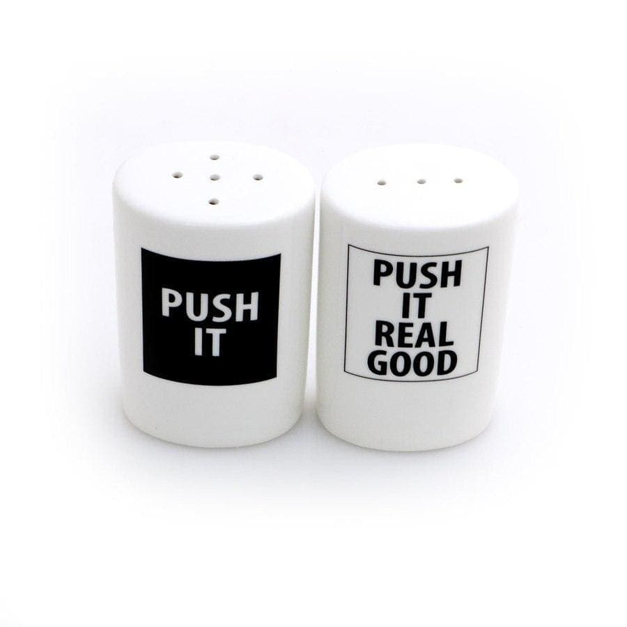Push It Salt-N-Pepper Shakers