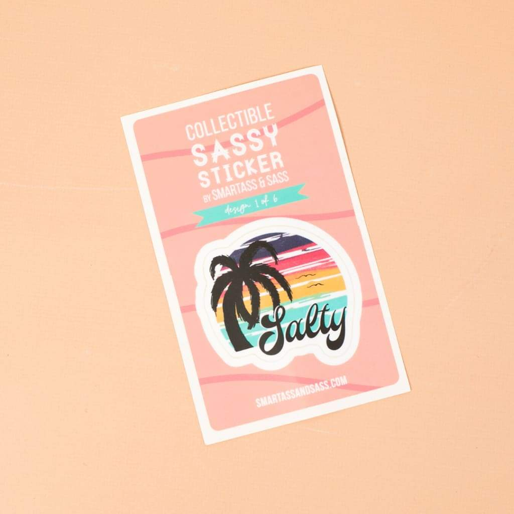 Salty Beach Sticker