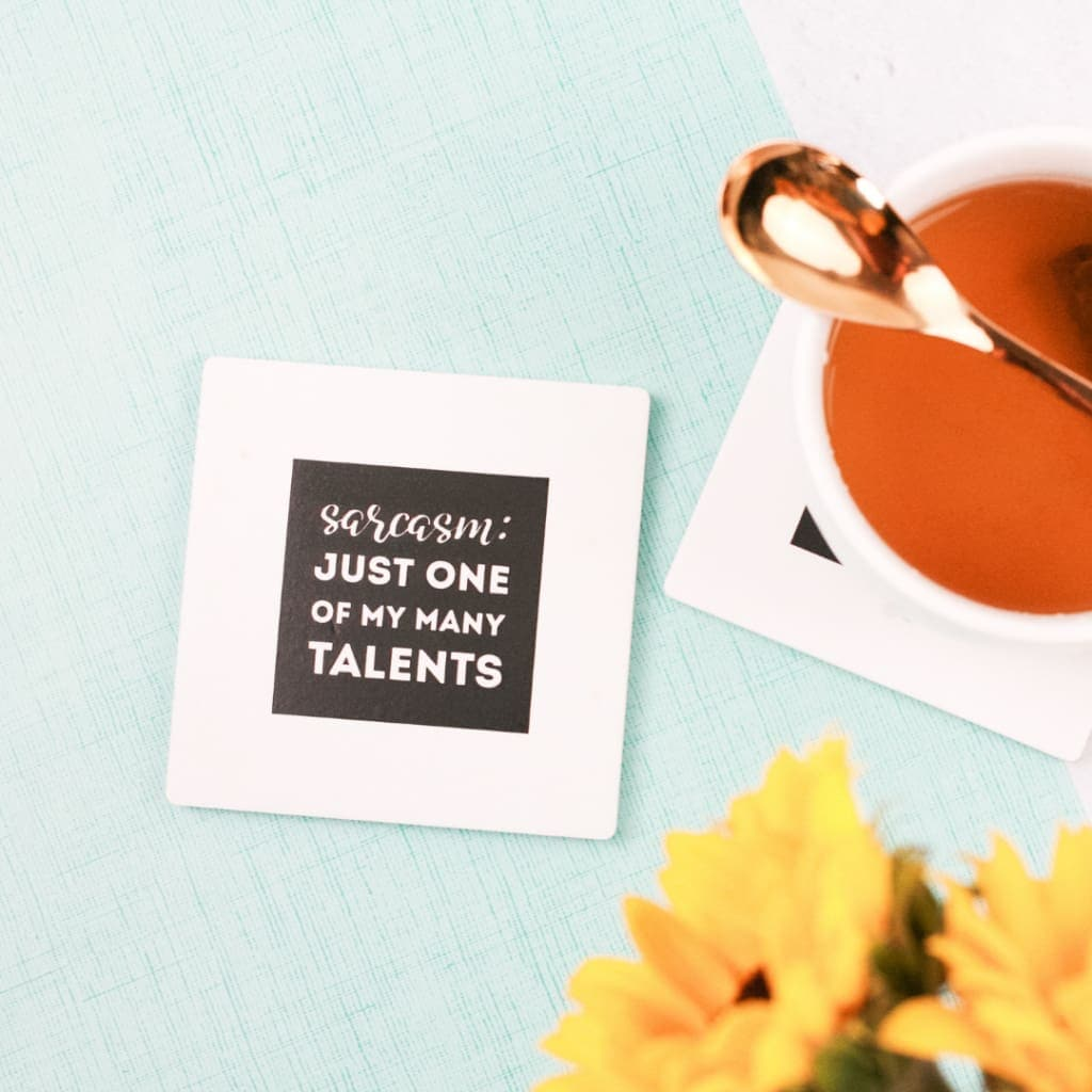 Sarcasm Talents Coaster Set