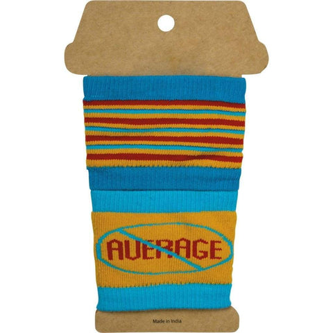 Savage Not Average Drink Sipper Sleeves (Set of 2)