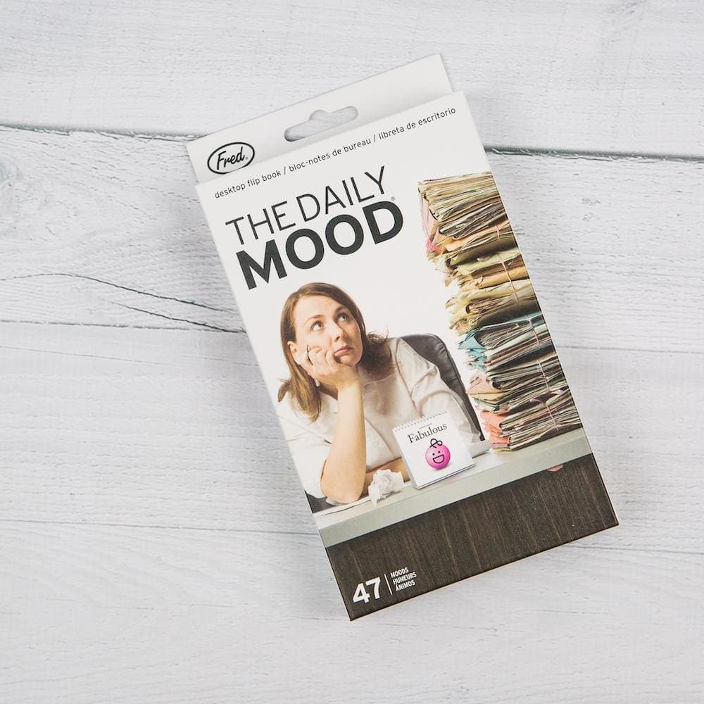 the Daily Mood Desk Flip Chart - Books