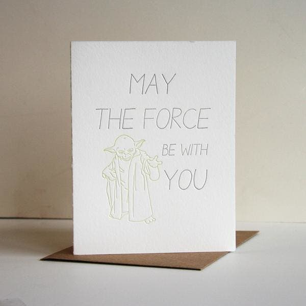 The Force Card - Greeting Cards