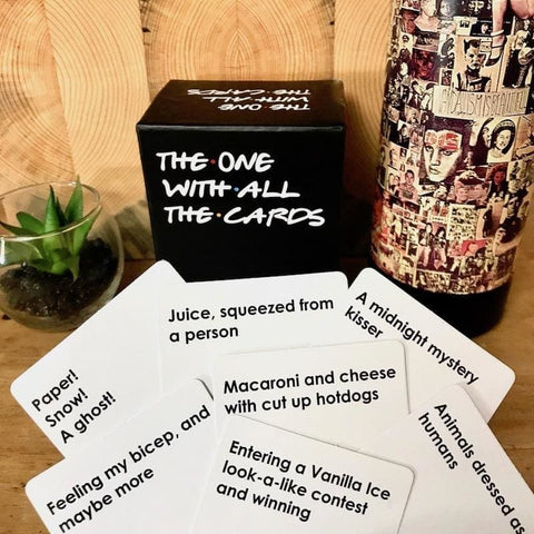 The One With All the Cards (Friends Show) Game