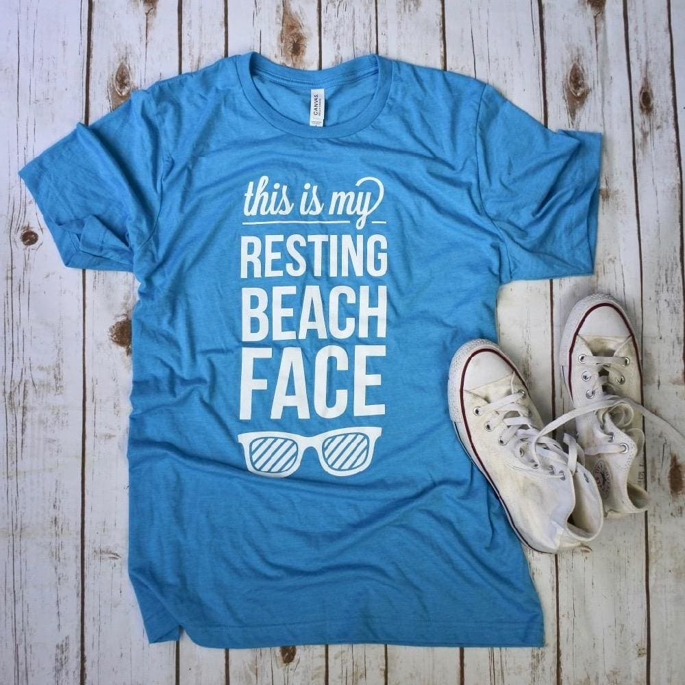 This is My Resting Beach Face T-Shirt