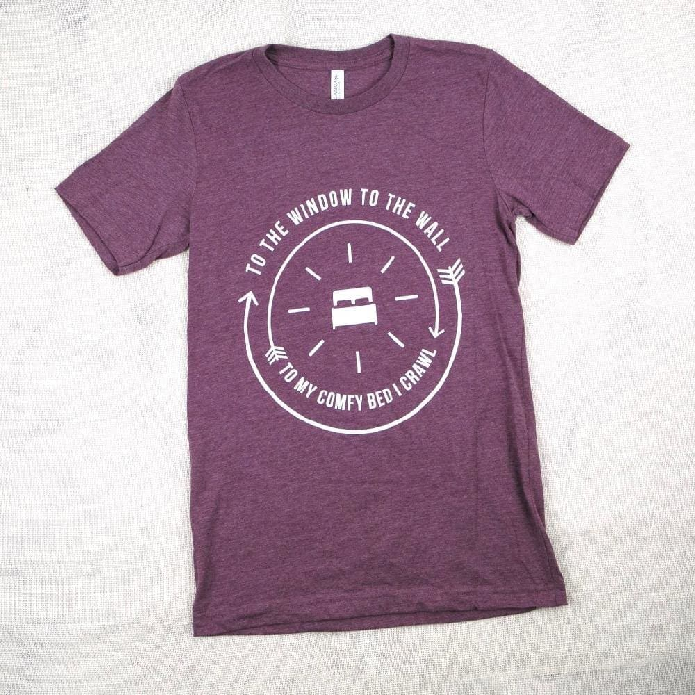 To My Comfy Bed I Crawl T-Shirt - Shirts