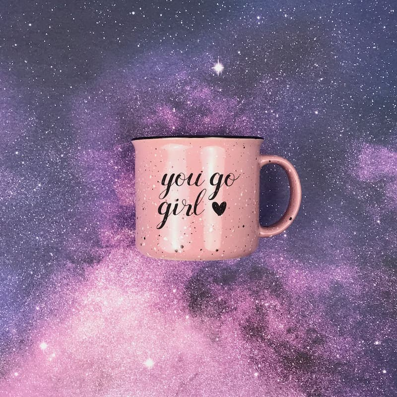 You Go Girl Campfire Mug - Drinkware