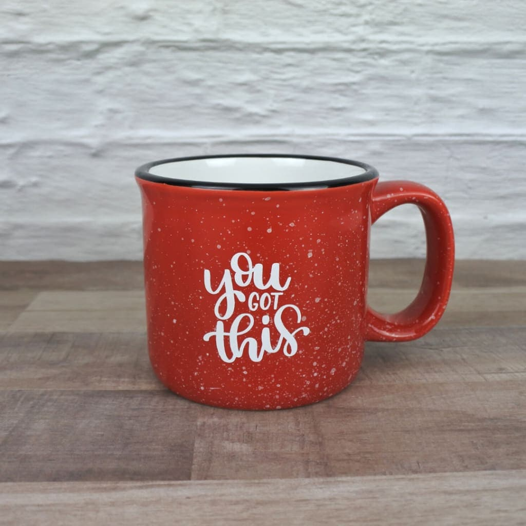 You Got This 13 oz. Mug (Red)