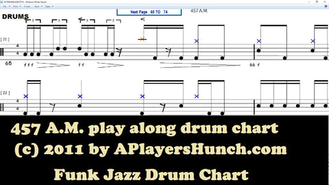 457 AM DRUMS CHART PAVMC