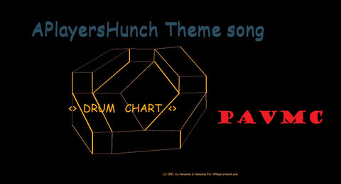 APlayersHunch Theme   DRUMS PAVMC