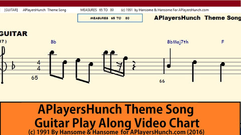 APlayersHunch Theme    GUITAR PAVMC