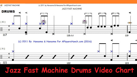 Fast Jazz Machine   DRUMS PAVMC