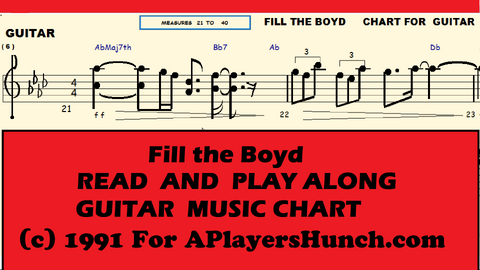 Fill the Boyd     GUITAR PAVMC