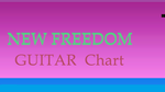 NEW FREEDOM       GUITAR PAVMC