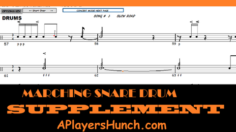 Marching Snare Drum Supplement