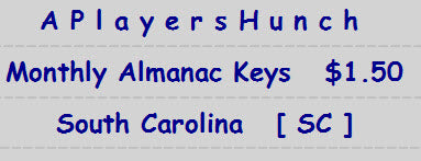 Monthly Almanac Keys   SC South Carolina