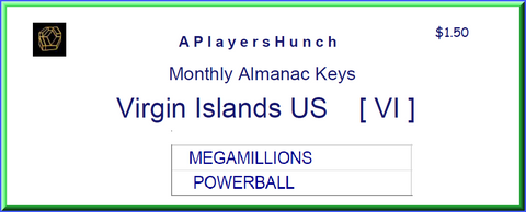 Monthly Almanac Keys   VI       US Virgin Islands