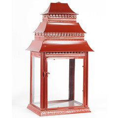 Red Pagoda Lanterns- Assorted Sizes
