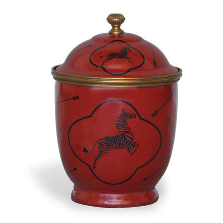 Picture of Le Zébre Red Jar
