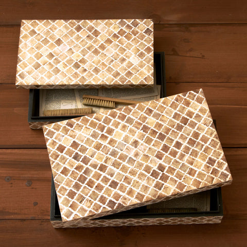 Picture of Bone Mosaic Boxes