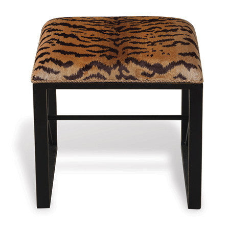 Picture of Medallion Black Single Bench in Le Tigre