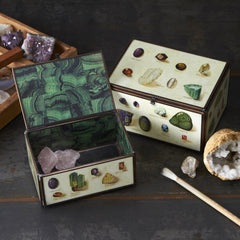 Gemstone Glass Boxes
