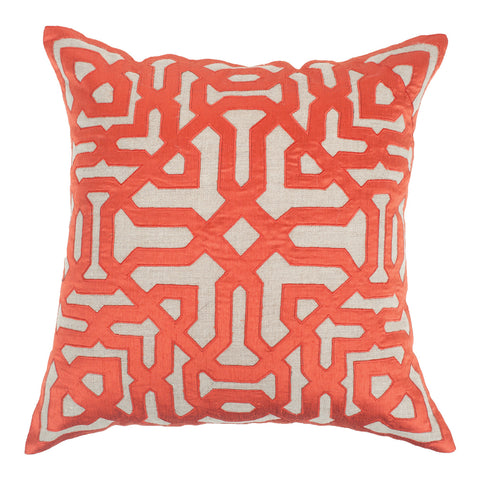 Picture of Moroccan Screen Rust Lounge Cushion