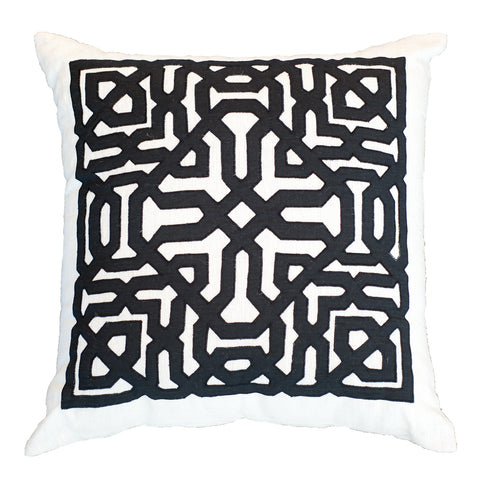 Picture of Moroccan Square White Lounge Cushion