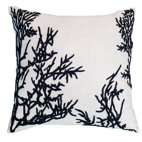 Picture of Spider Vine Black Lounge Cushion
