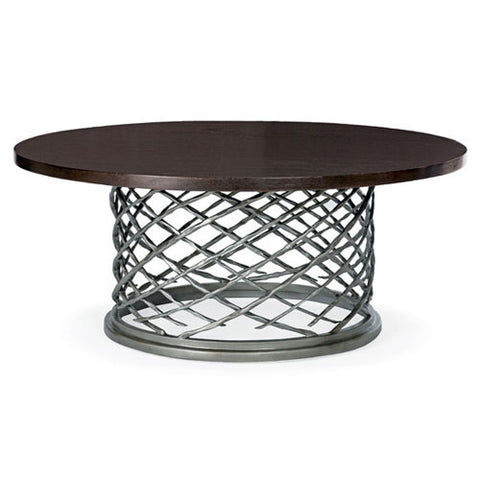 Picture of Hallam Round Metal Cocktail Table