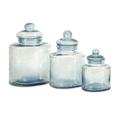 Cyprus Glass Canisters