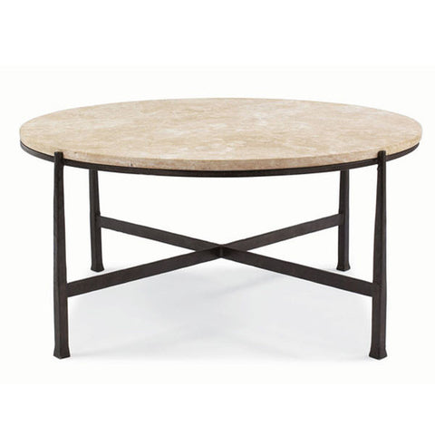 Picture of Duncan Round Metal Cocktail Table
