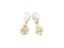 Load image into Gallery viewer, The Pink Reef shortie pearl dangle